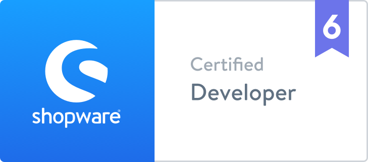 shopware6-certified-developer
